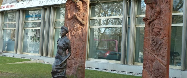 Rosa Luxemburg + Karl Liebknecht Denkmale