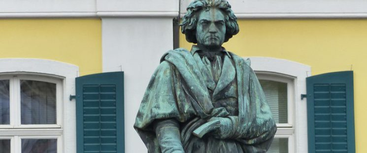 Ludwig van Beethoven Denkmal von Ernst Hähnel in Bonn